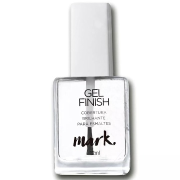 Mark Gel Finish Cobertura Brilhante para Esmaltes