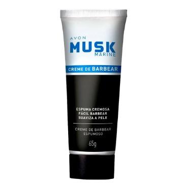Musk Marine Creme de Barbear Espumoso 65g