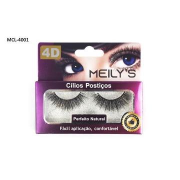Cílios Postiços 4D Meily's MCL-4001