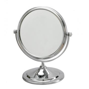 Espelho de Mesa Dupla Face com Aumento