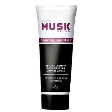 Musk Storm Creme de Barbear Espumoso 65g