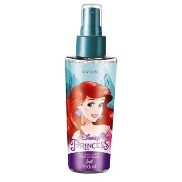 Colônia Princesas Ariel 150ml