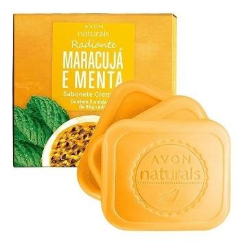Naturals Sabonete Barra Maracujá e Menta