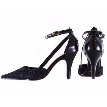 Sapato Scarpin Preto 9.503