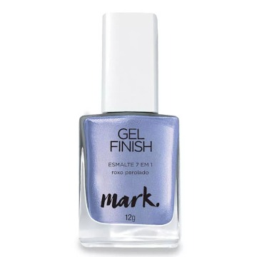 Mark Esmalte Gel Finish Roxo Perolado
