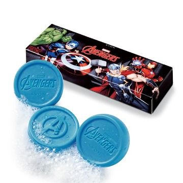 Kit 3 Sabonetes em Barra Avengers Infinity War