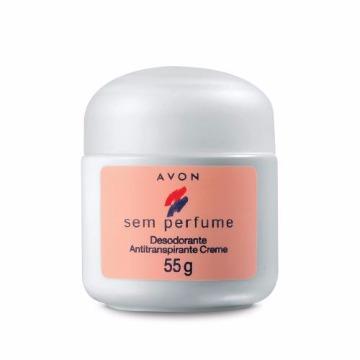 Desodorante Creme Avon Sem Perfume 55g