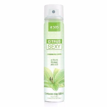 Desodorante Íntimo Citrus Sexy - 60g/100ml