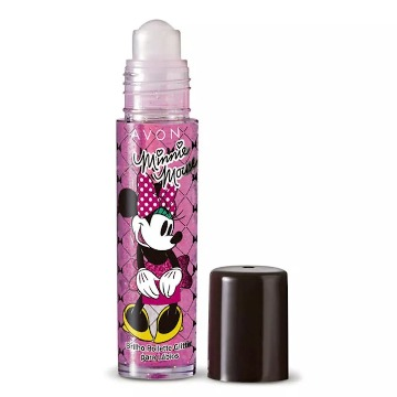 Brilho Labial Rollette Glitter Minnie