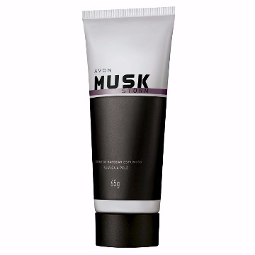Musk Storm Creme de Barbear Espumoso