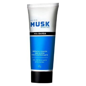 Musk Marine Gel Após Barba 65g