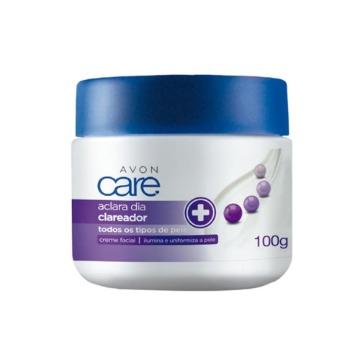 Aclara Creme Facial Hidratante Clareador Dia 100g