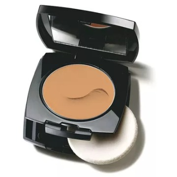 Avon True Color Base Compacta Castanho Claro