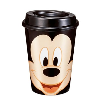Copo com Tampa Mickey 320ml