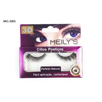 Cílios Postiços 3D Meily's MCL-3001