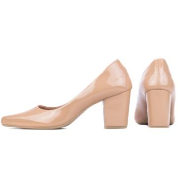 Sapato Scarpin Nude Rosê 4500D