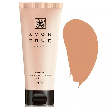 Avon True Color Base Líquida Matte Bege - 30ml