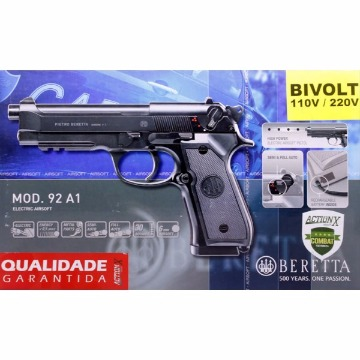 Pistola BERETTA 92A1 Elet Plast
