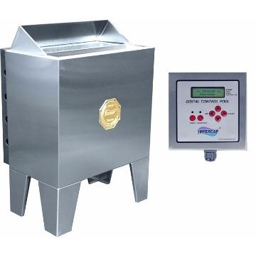Forno12 Kw Eletrico 220 Trifasico Quadro Digital - Impercap