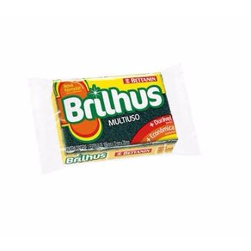Esponja 109X72X20 Multiuso - Brilhus