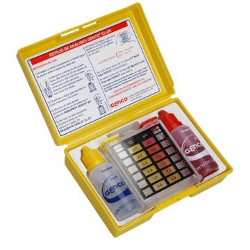 Kit Teste Ph e Cloro - Genco