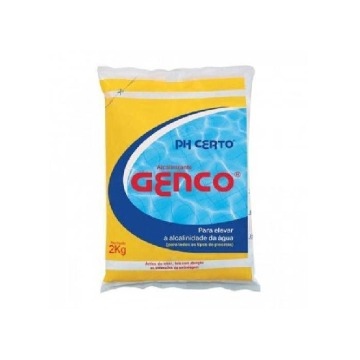 Elevador Alcalinidade 2 Kg (PH certo) - Genco