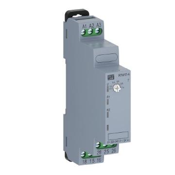 RTW17-A01U060ME40 RELÉ TEMPORIZADOR ELETRÔNICO 6-60M Função: Retardo na energização Tensão comando: 220-240V 50/60Hz ou 24VDC WEG