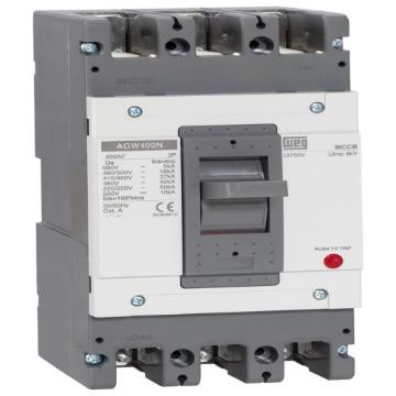 AGW400N-DX400-3 DISJUNTOR 3P 400A 42 kA (380 VCA) 400 A 3 POLOS 12775151 WEG 1119