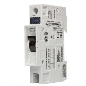 5SX1 116-7 Disjuntor Unipolar 16A Curva C - 5SX1167  código de baarras Siemens 08.18