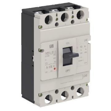 DWP630L-630-3 DISJUNTOR 3P 630A 35KA 380/400V DWP630L-630-3