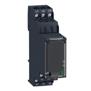 RM22TG20 RELE TENSAO TRI 2NANF 220-440V 50/60hz. Falta/Sequencia Fase - s/ temporizaçao  ANTIGO (RM4TG20) 09.18