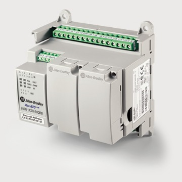 Controlador Programável Micro820 - 24Vdc / 12DI 4AI 7DO 1AO / Eth RS232/485 - Rockwell