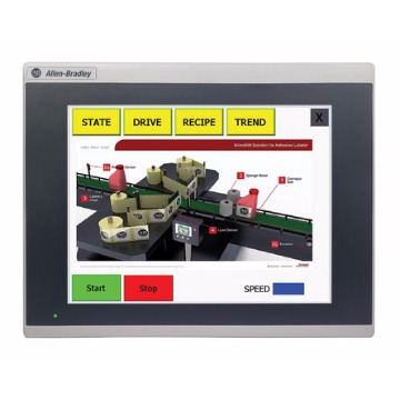 IHM PanelView 800 - 10.4´´ 800 x 600px Touch screen, Eth/Serial - Allen Bradley
