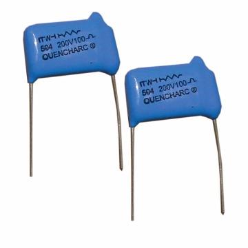RC de Supressão Importado - 0.5 uF/150 Ohms 600Vcc - Cód 504M06QE150 Quencharc