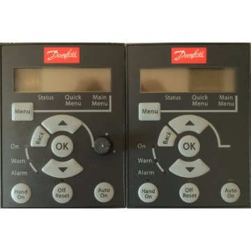 Display LCP - Danfoss - P/ VLT FC51 Microdrive cod 132B0101