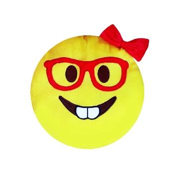 Almofada Emoji Garota Nerds Cdf