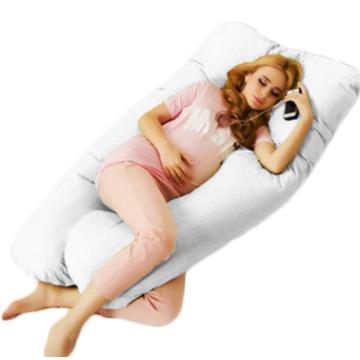 Travesseiro Gigante para Gestante Cor Branco