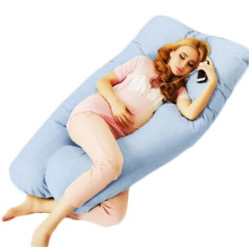 Travesseiro Gigante para Gestante Cor Azul Claro