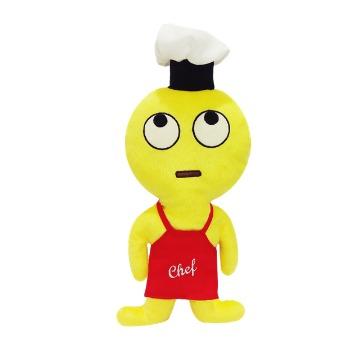 Boneco Emoji Chef Olhando pra Cima