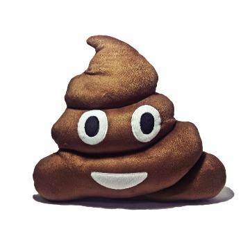 Almofada Cocôzinho Emoji