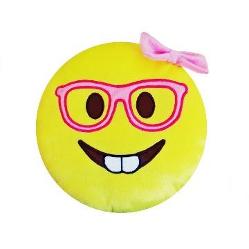 Almofada Emoji Menina Nerds