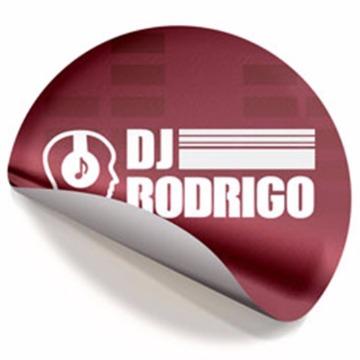 500 Adesivo Redondo - 68x68 mm