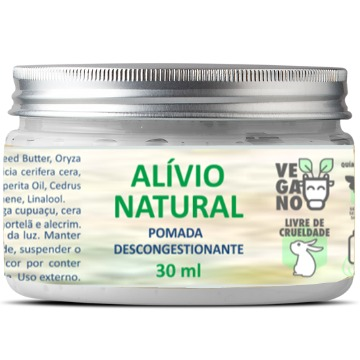 Alívio natural - pomada descongestionante 30 g
