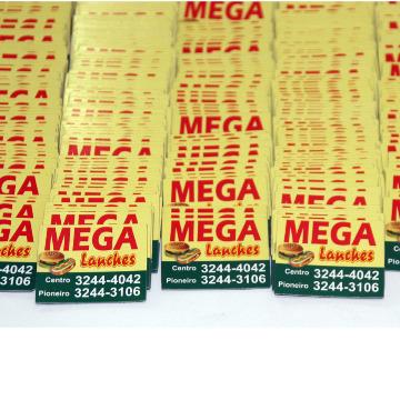 Imãs para Geladeira - 4 x 5 cm - 5000 unid