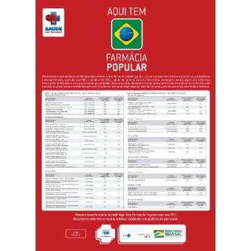Novo Cartaz  contendo os valores de referência - Referente ao seu Estado. PERSONALIZADO  c/ sua logo.
