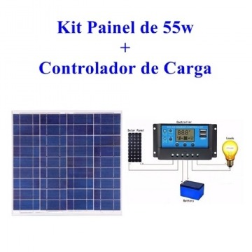 KIT ENERGIA SOLAR 55 W
