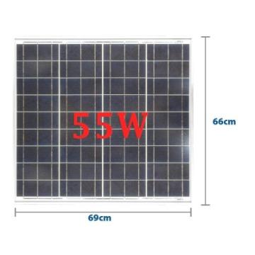 Painel Solar 55W