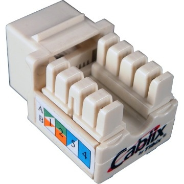 CONECTOR KEYSTONE RJ45 CAT6 CABLIX
