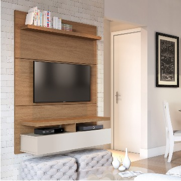 Painel com Rack suspenso Home City 1.2