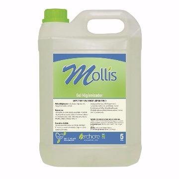 Álcool em gel 70º Mollis Archote 5 litros
